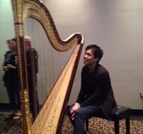 Andrew Chan, Harpist