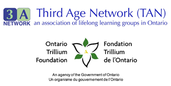 Third Age Network & Ontario Trillium Foundation